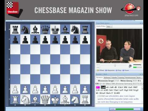ChessBase Magazin Show zur Ausgabe 146 Februar 2012