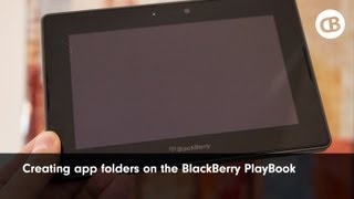 Creating app folders on the BlackBerry PlayBook