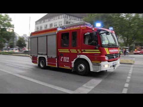 HLF 1 FW 1 + NAW BF München
