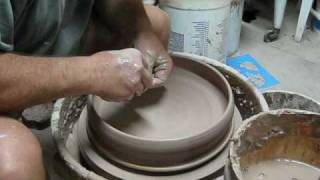 MAKING A CHIP AND DIP BOWL