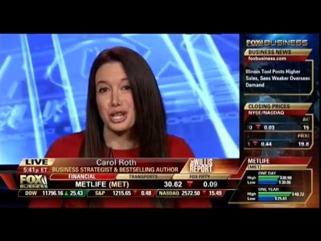 Carol Roth Talks GM, Robo-signing, iPads on The Willis Report (Fox Business)