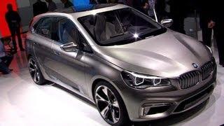 BMW Concept Active Tourer – World's 1st FWD BMW! 2012 Paris Motor Show