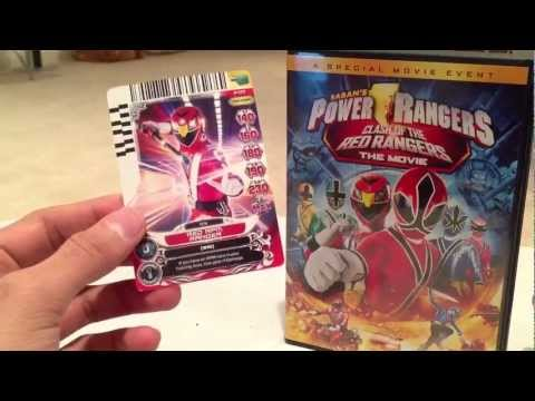 clash of the red rangers dvd review power rangers samurai