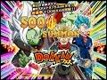 500 STONES SUMMON! Fusion Zamasu & Super Saiyan Rage Future Trunks Dokkan Festival Summons