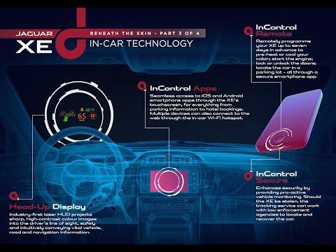 Jaguar XE Technology Release - Connected Car Technology | AutoMotoTV