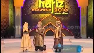 A indonesian cute littl baby reciting QURRAN  surah RAHMAN
