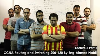11-CCNA Routing and Switching 200-120 (Lecture 03 Part 1) By Eng-Ahmed Nabil | Arabic