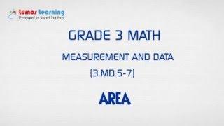 Grade 3 Math - Area (3.MD.6)