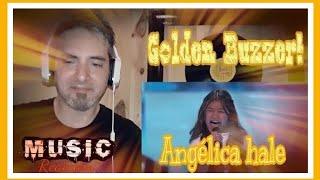 ANGÉLICA HALE, Golden Buzzer en got Talent.