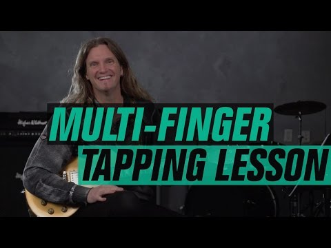 Lesson Guitar - 8 Finger Tapping Runs