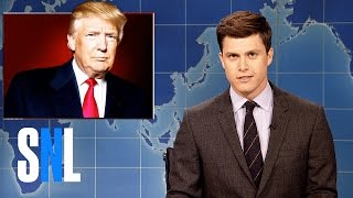 Weekend Update on Donald Trump's Syria Missile Strike - SNL
