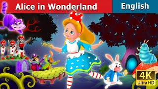 Alice in the Wonderland Story in English   English Story   Bedtime Stories   English Fairy Tales