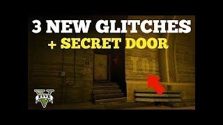 GTA5 - ONLINE  SECRET DOOR? FLY UNDER THE  MAP  + 3 TOP RP GLITCH WALLBREACHES!
