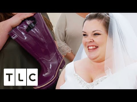Bride Wants To Wear Wellies On Her Wedding Day | Curvy Brides' Boutique