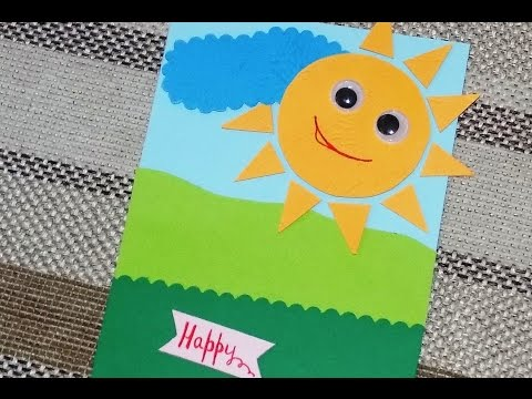 Поделки из открыток для детей своими руками