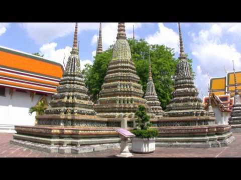 Wat Pho y Palacio Real de Bangkok en Tailandia – Wat Pho and Grand Palace of Bangkok in Thailand
