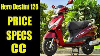 Hero Destini 125 Price in India, Specs, Features
