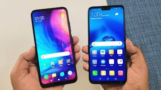 Redmi Note 7 vs Huawei Y9 (2019) SpeedTest & Camera Comparison