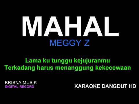 MAHAL KARAOKE DANGDUT HD AUDIO