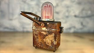 1950's Railroad Lamp Restoration