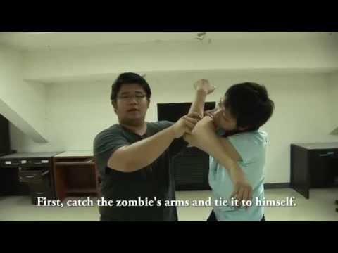 How to fight a zombie with your bare hands!!!
