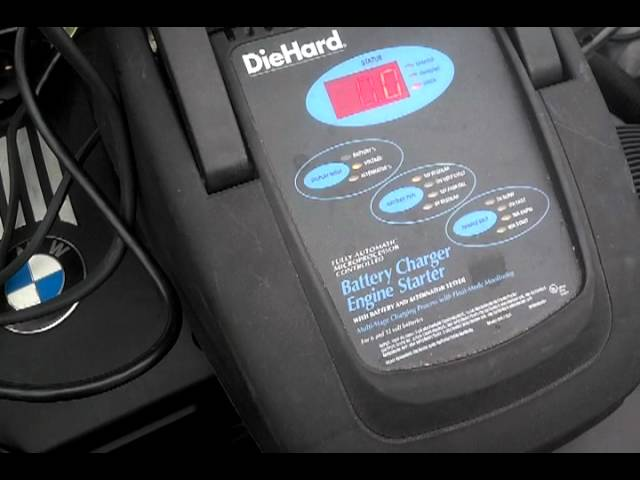 BMW Connecting Battery Charger, For Charging and ...