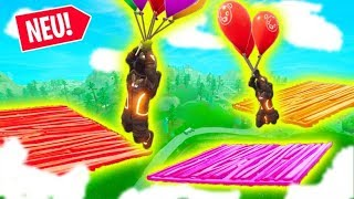 Neue FORTNITE Ballon MEGA PARKOUR