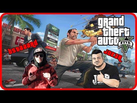 GTA 5 Online : BMX Parkour & The Canyon Jump ! w/Bstaaard