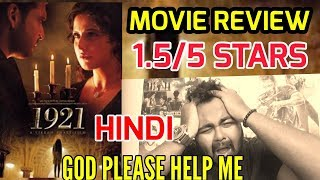 1921 MOVIE REVIEW IN HINDI | INDIA
