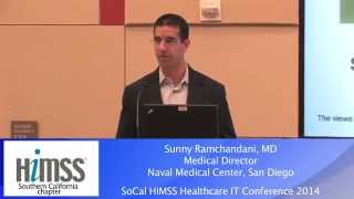 2014 Healthcare IT Conference - Sunny Ramchandani, MD