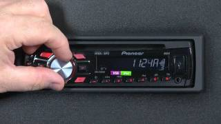 How to set the clock on your pioneer car stereo. Ремонт