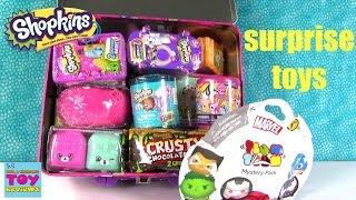 Shopkins Surprise Lunchbox Palooza Opening | Happy Places Squinkies Disney | PSToyReviews
