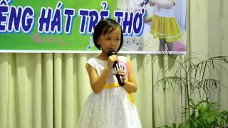 Hội thi Karaoke Tiếng hát trẻ thơ 2014 Lá 1 bé Bảo Nhi hát Búp bê bằng bông