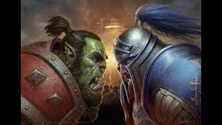 Warcraft 3 | Footman VS Grunts Profesional 4.8 B | LICH | Annoying Mushrooms !!