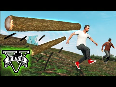 GTA V Online - TRONCOS RODANTES! - LAS 7 PRUEBAS DEL MONTE CHILIAD! #2  - NexxuzHD