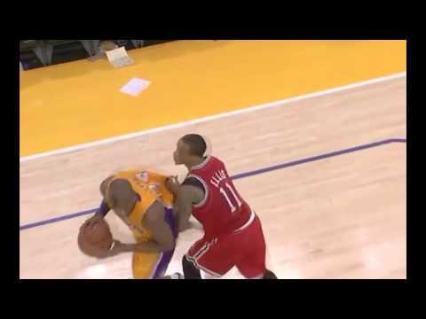 Larry Sanders uk Larry Sanders Blocks Kobe