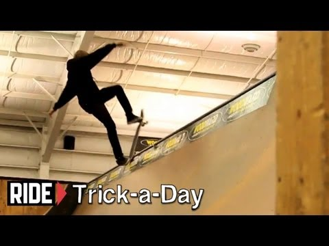 "How-To Frontside Blunt Stall With Aaron ""Jaws"" Homoki - Trick-a-Day"