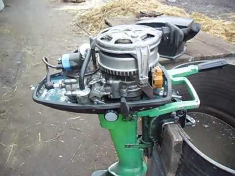лодочный мотор ветерок 8м гибрид чемпион