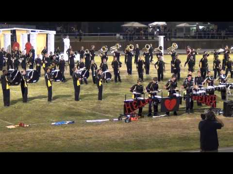 East Davidson High School Marching Band 2011