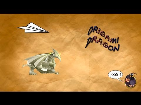 Origami Dragon Dragon City