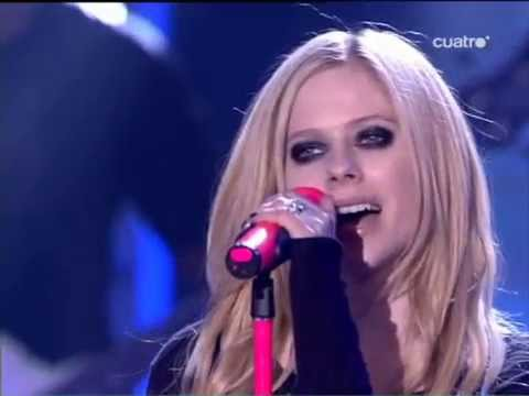 Avril Lavigne - When You're Gone (live) - X Factor video
