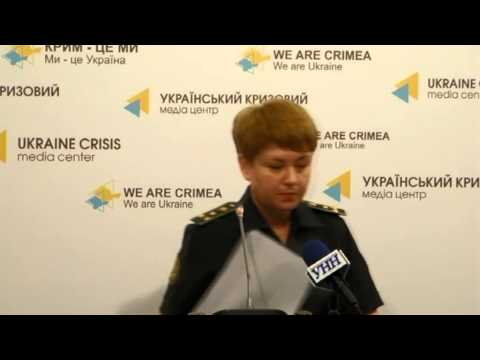 United briefing of ATO speakers and Ministry of Defense. Ukraine Crisis Media Center, 7-07-2015