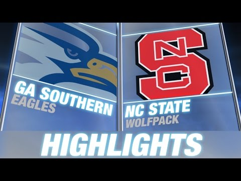Georgia Southern vs. NC State | 2014 ACC Football Highlights