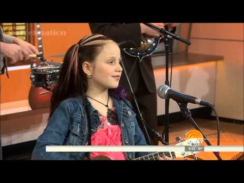 Emily Sunshine Hamilton - Performs On The Today Show 3- 28-14