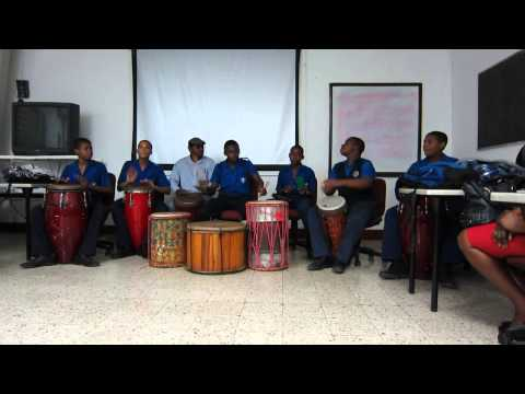 Jamaica College Drummers at U.W.I. Mona Dept. of Community Health #1