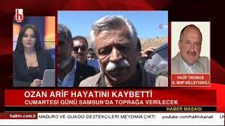 Ozan Arif o şiiri Halk TV'de okumuştu! / Nazif Okumuş