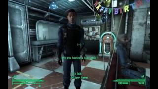 He didn't hurt you, did he? - Fallout 3