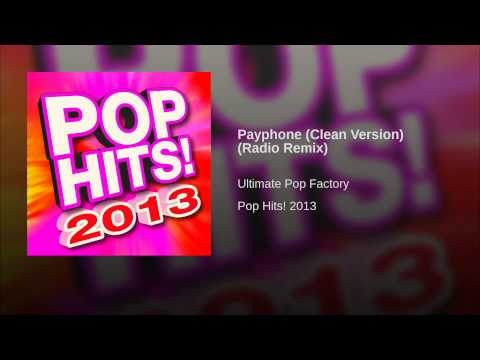 Payphone (Clean Version) (Radio Remix)