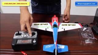 Máy bay điều khiển từ xa cánh bằng WS-540 4 kênh su26 | Đồ chơi điều khiển từ xa giá rẻ