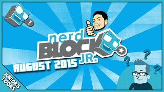 Nerd Block Jr | August 2015 Boys Surprise Mystery Toy Unboxing